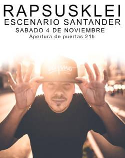 Rap'Susklei: Concierto en Santander, el 4 de noviembre de 2017