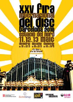 XXV Fira Internacional del Dis de Barcelona: 11 a 13 de mayo 2018, Barcelona