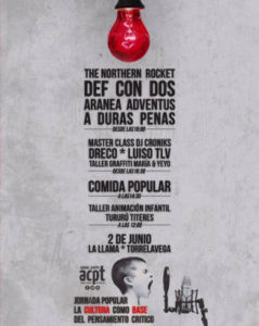 Asamblea Ciudadana por Torrelavega : Jornada Popular La Cultura Como Base del Pensamiento Crítico ( Def Con Dos : Concierto en Torrelavega, 2018/06/02 )
