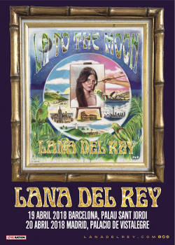 Lana Del Rey: Conciertos en Barcelona y Madrid, 19 y 20 de abril