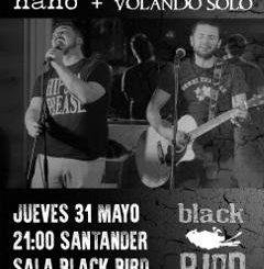 Nano, Volando Solo : Concierto en Santander, 2018/05/30