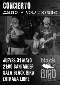 Nano, Volando Solo: Concierto en Santander, 2018/05/30