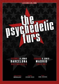 Psychedelic Furs: Concierto el 8 de junio 2018, en Barcelona, y el 9 en Madrid