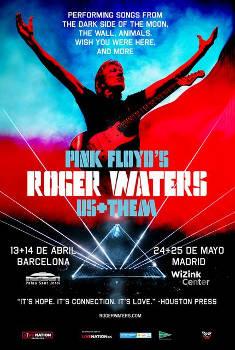 """Roger Waters: Continúa la gira """"US+THEM 2018"""" en mayo en Madrid"""
