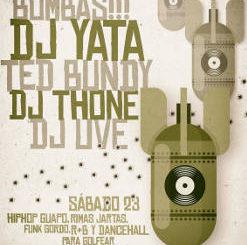 DJ Ted Bundy, DJ Thone, Dj Uve, DJ Yata : Sesión Hip Hop en Santander, 23 de junio 2018