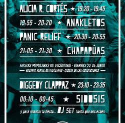 Placita Fest : Vicálvaro (Madrid), 22 de junio 2018