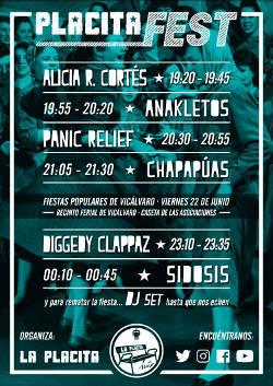 Placita Fest: Vicálvaro (Madrid), 22 de junio 2018