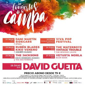 Los Conciertos de la Campa: Nuevas citas en la capital cántabra este verano