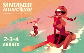 Santander Music 2018: Pone a la venta las entradas por días
