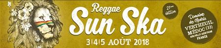 Reggae Sun Ska Festival 2018: Del 3 al 5 de agosto, en Vertheuil (Francia)
