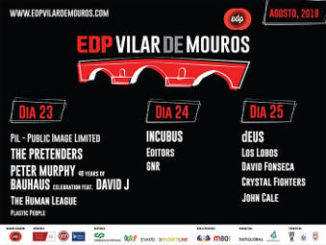 Festival Vilar de Mouros 2018 : 23 a 25 de agosto en Vilar de Mouros (Portugal)