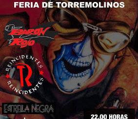 Barón Rojo, Estrella Negra, Reincidentes : Concierto el 27 de septiembre 2018, en Torremolinos