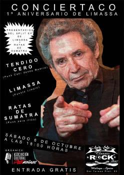 Limassa, Ratas de Sumatra, Tendido Cero: 6 de octubre 2018, en Málaga
