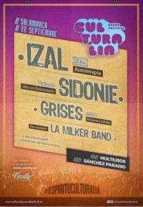 Culturalia Sound Festival : 22 de septiembre 2018, Salamanca