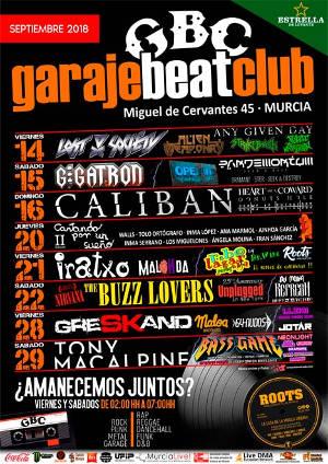 Garabe Beat Club: Arranca la 6ª temporada, en Murcia