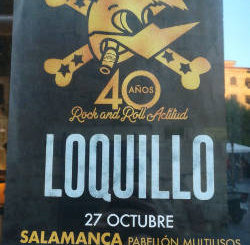 """Loquillo : Su Gira """"40 años de Rock and Roll Actitud"""" recabará en Salamanca el 27 de octubre"""
