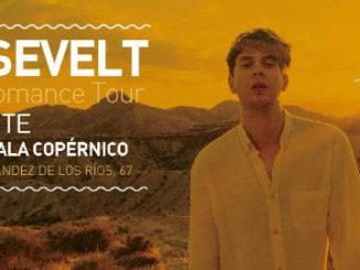 Roosevelt : Actuará en Madrid y Barcelona, los próximos 16 y 17 de noviembre de 2018