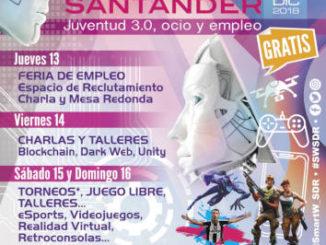 Smart Weekend Santander IV : 13 a 16 diciembre 2018, Santander