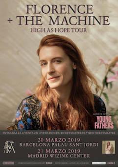Florence + The Machine: Inminente desembarco en España