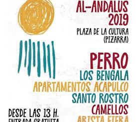 Festival Al Ándalus 2019 : 6 de abril 2019, Pizarra (Málaga)