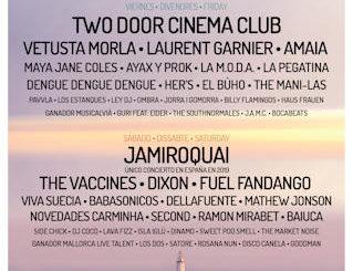 Mallorca Live Festival 2019 : 10 y 11 de mayo, en Calvià (Mallorca)