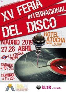 Feria Internacional del Disco : Vueve a Madrid, Barcelona y Bilbao