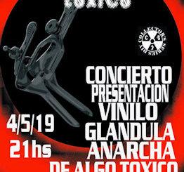 Algo Tóxico : Presentarán su segundo vinilo en solitario en Málaga, 4 de mayo 2019