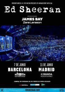 Ed Sheeran : Inminente gira en España del pelirrojo de oro