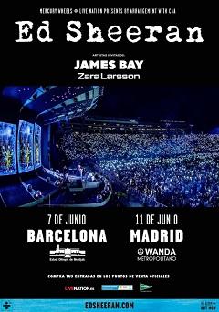 Ed Sheeran: Inminente gira en España del pelirrojo de oro