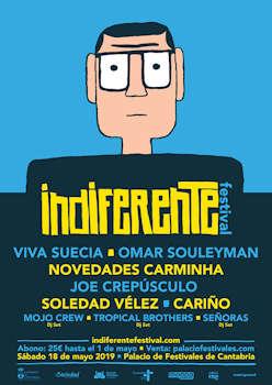 Indiferente Festival: 18 de mayo 2019, Santander