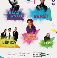 Hoky Popi Music 2019 : 21 de julio 2019, en Santander