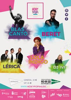Hoky Popi Music 2019: 21 de julio 2019, en Santander