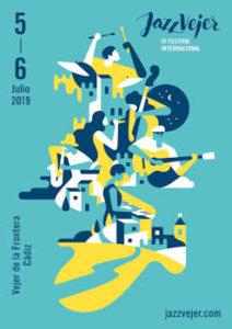Festival Internacional Jazz Vejer 2019 : 5 y 6 de julio, en Vejer (Cadiz)