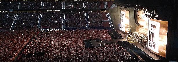 Bon Jovi : Solo faltó la voz
