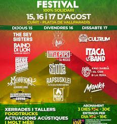 Sam Sam Festival : 15 al 17 de agosto, Cunit (Tarragona)