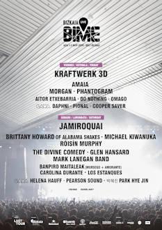 BIME Live: Completa su cartel