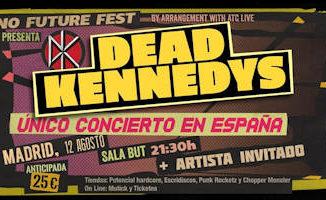 Dead Kennedys : 12 de agosto 2019, en Madrid