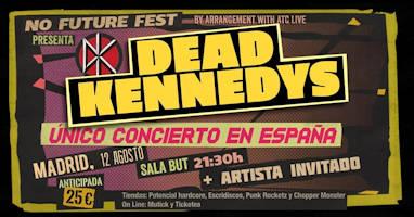 Dead Kennedys: 12 de agosto 2019, en Madrid