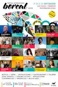 Festival Internacional Boreal : 19 a 22 de septiembre 2019, en Los Silos (Tenerife)