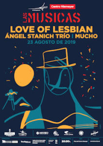 Las Músicas 2019 : 23 de agosto 2019, Avilés (Asturias) ( Love of Lesbian : Gira veraniega y próxima entrada en el estudio )