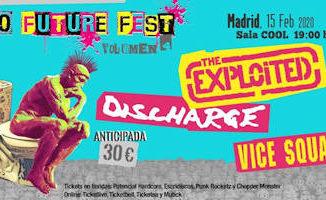 No Future Fest : Volumen 4, 15 de febrero 2020, en Madrid