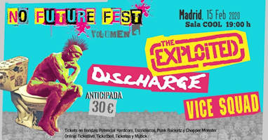 No Future Fest: Volumen 4, 15 de febrero 2020, en Madrid
