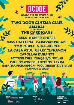 DCODE Festival 2019: 7 de septiembre 2019, Madrid