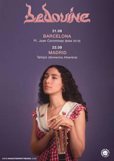 Bedouine: Presentará su nuevo disco en Barcelona y Madrid el 21 y 22 de septiembre
