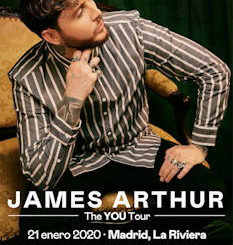James Arthur : Vuelve a Madrid y Barcelona