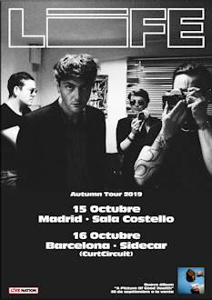 Life: La banda de punk rock, presentará su nuevo álbum en Madrid y Barcelona