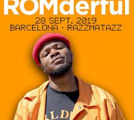 ROMderful : Visita Barcelona el próximo 28 de septiembre en la Sala Razzmatazz 3