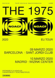 The 1975 : Visitarán Barcelona y Madrid en marzo de 2020 dentro de su nueva gira europea
