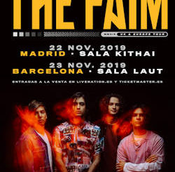 "The Faim : Vuelven a Madrid y Barcelona para preentar su debut ""State of Mind"""