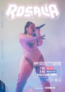 Rosalía : Soldout y nueva fecha en Barcelona, el 8 de diciembre 2019